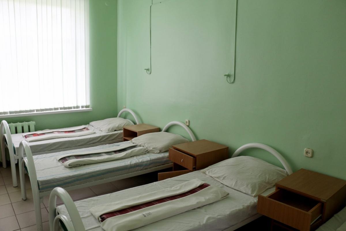 Госпиталь ковид кровати