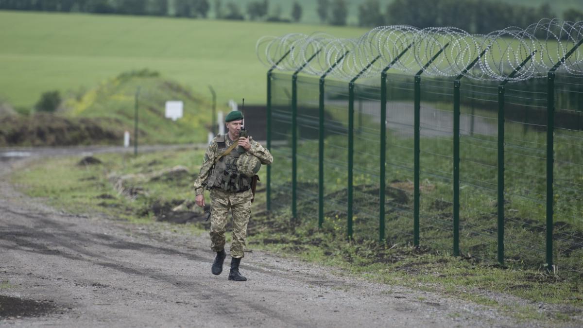 граница, Украина,  военный, контроль