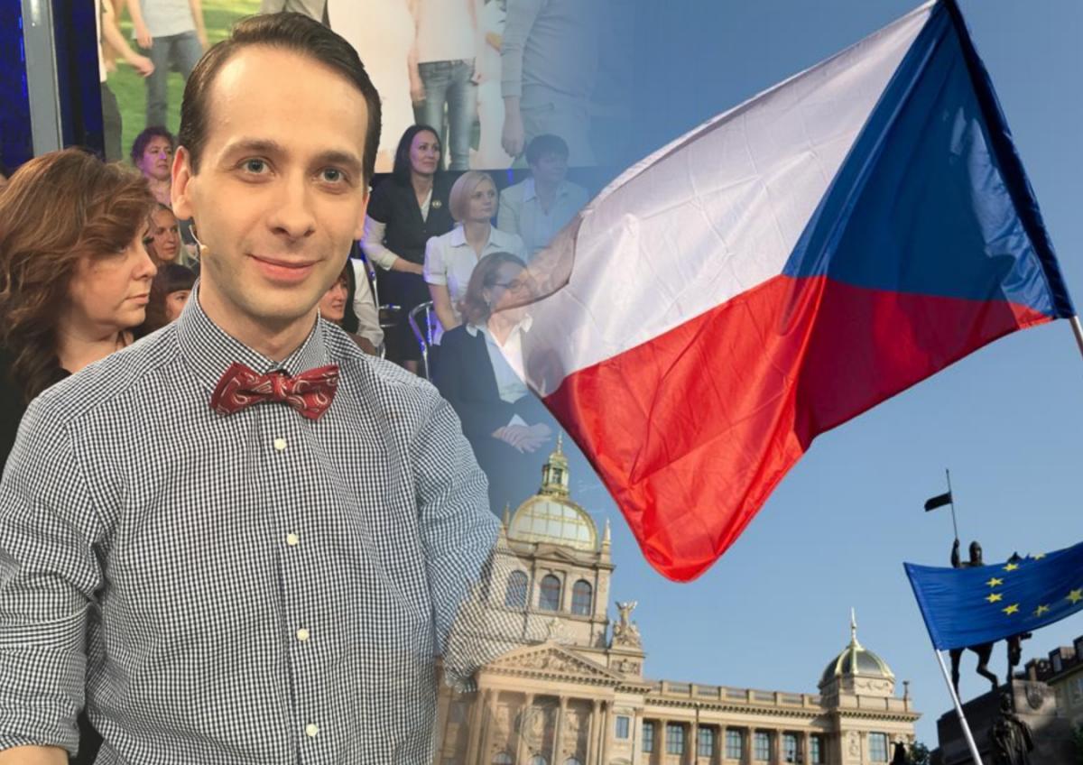 Юст Чехия журналист
