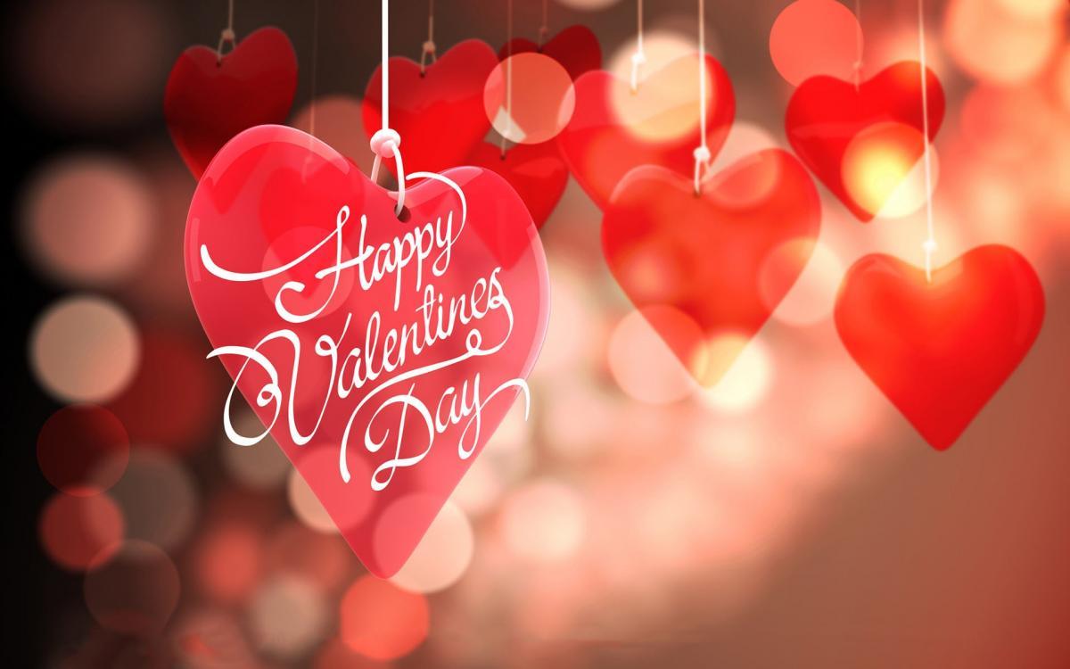 Валентинки, картинки на День святого Валентина 14 февраля 2018