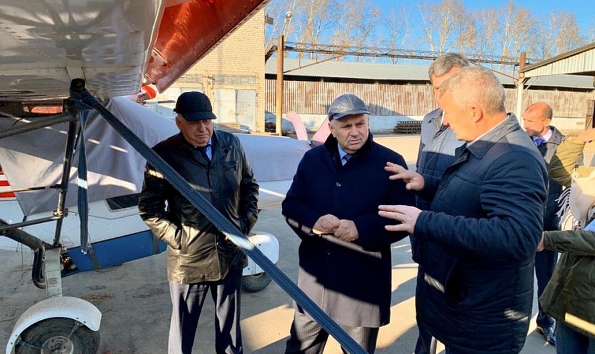 Джамбулат Хатуов расставил акценты в развитии растениеводства в Амурской области
