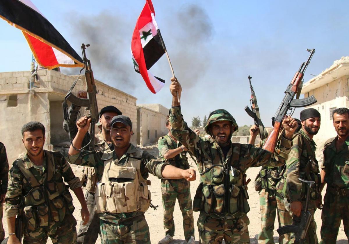 Армия США покидает свои позиции в районе сирийского Манбиджа, город перешел под контроль сирийских военных