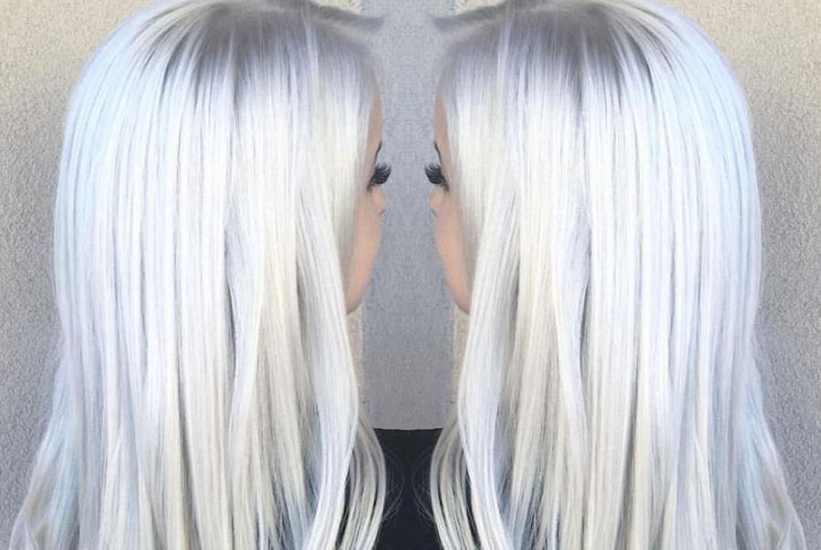 Ледяные пряди – Icy Hair, самое модное окрашивание волос в 2019 году: восхитительное лунное сияние для блондинок, брюнеток и рыжих
