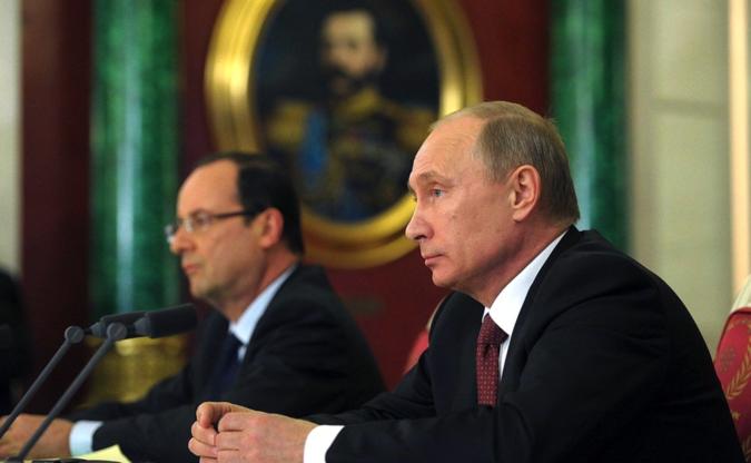 Boulevard Voltaire поставил Олланду ультиматум: союз с Россией или отставка