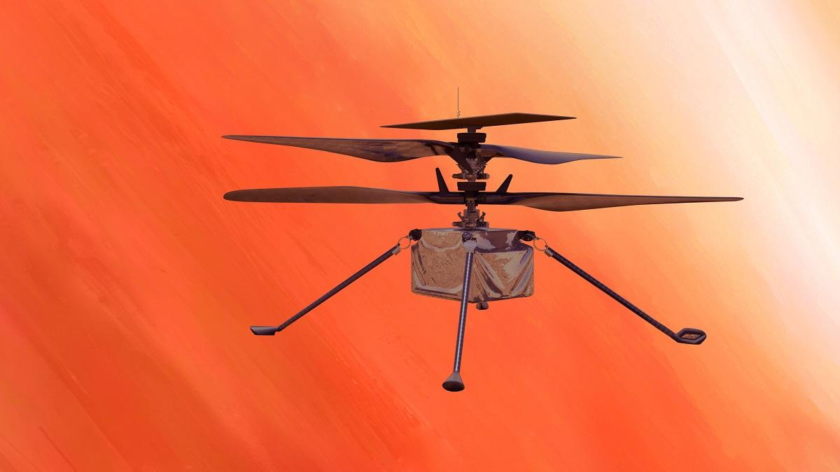 Марс аппарат Ingenuity
