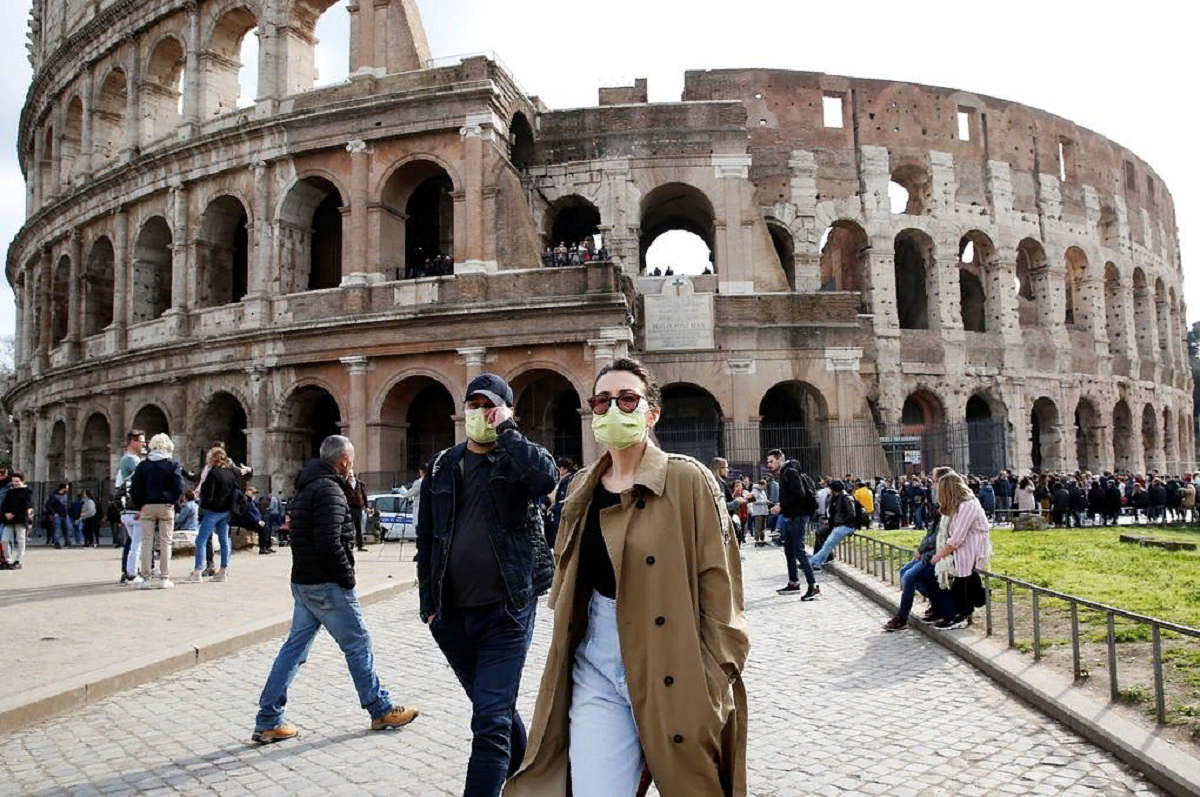 отдых коронавирус италия туризм