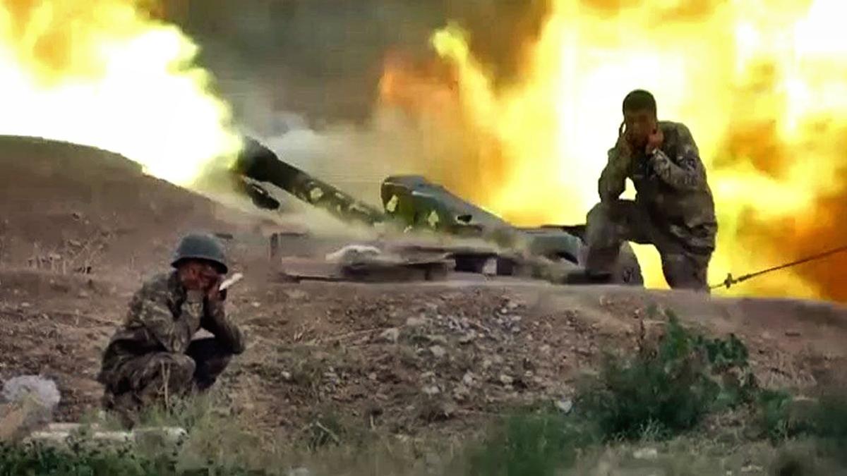 Бой в Карабахе