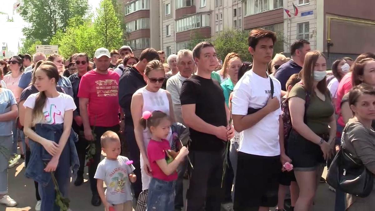 Жители Казани