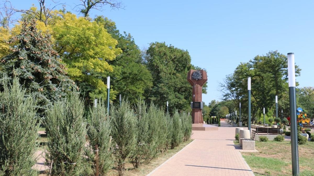 комсомольский парк керчь