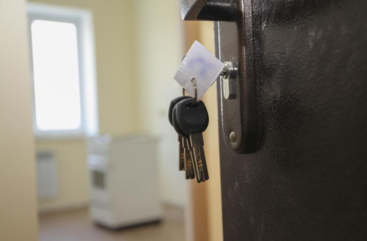 Ключ в двери