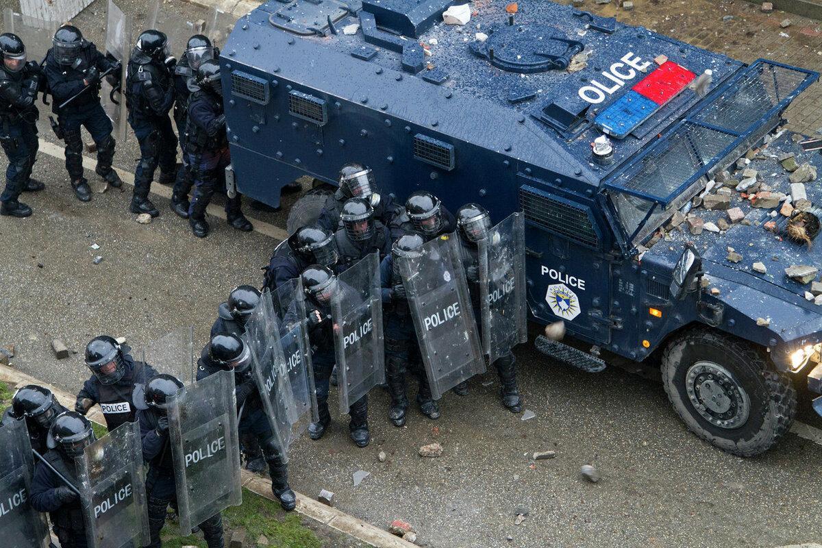 Косово, полиция, столкновения