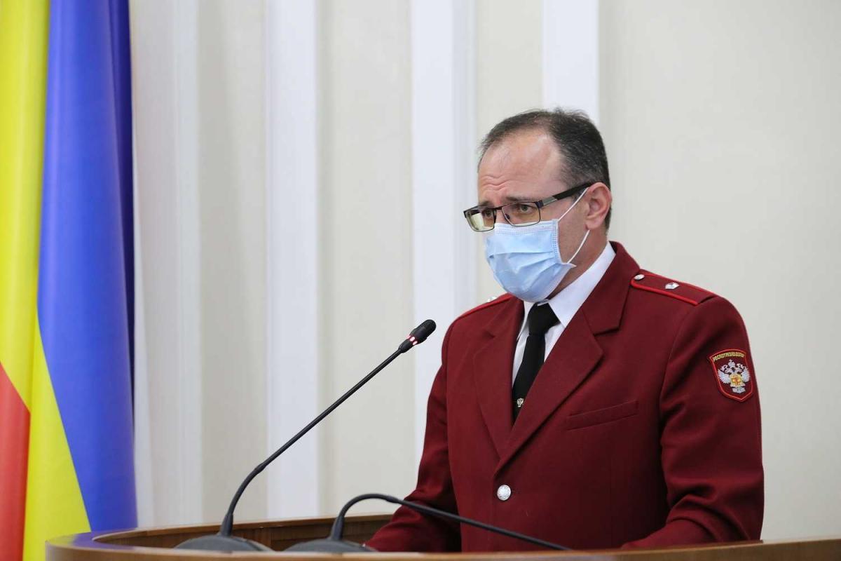 Евгений Ковалев Главный санитарный врач Ростовской области