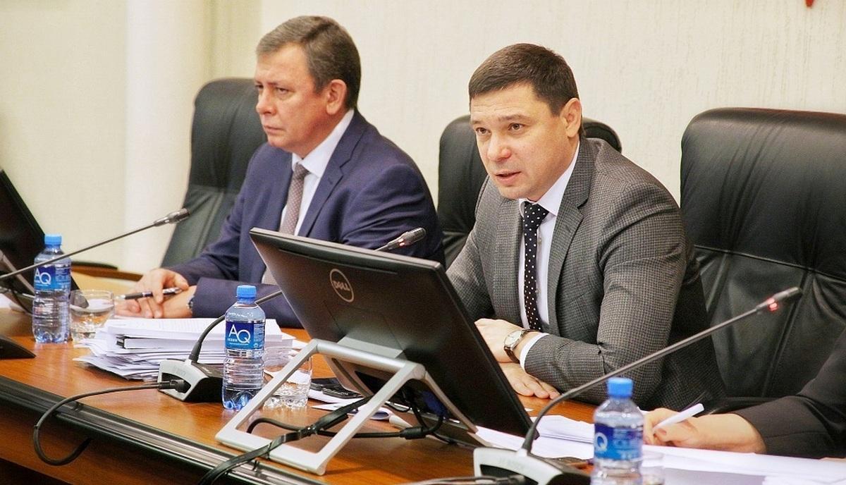 Евгений Первышов на заседании краснодарской гордумы