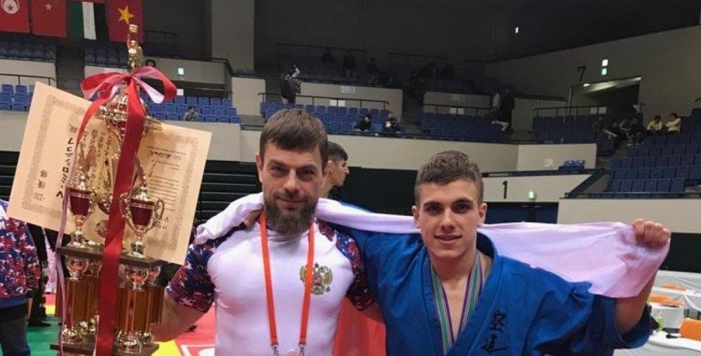 Ростовчанин стал чемпионом мира по японскому кудо