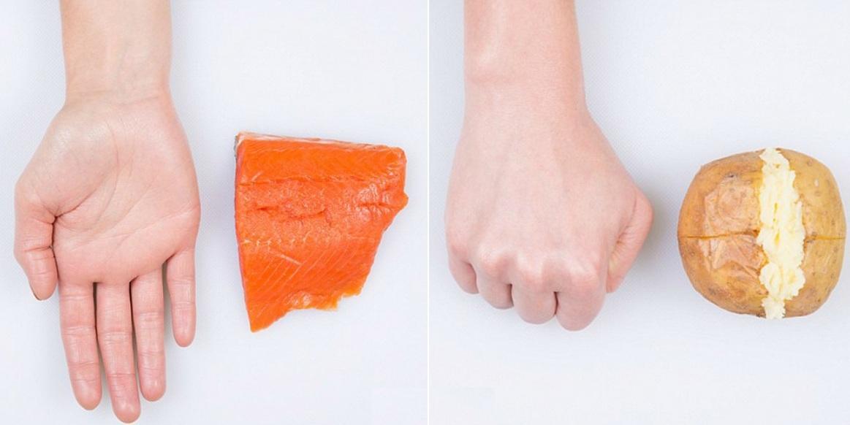 Похудение в кулаке: сколько можно есть за раз, чтобы похудеть