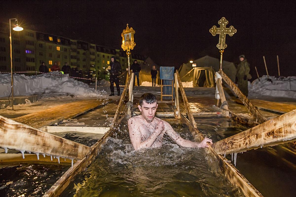 купания на Крещение