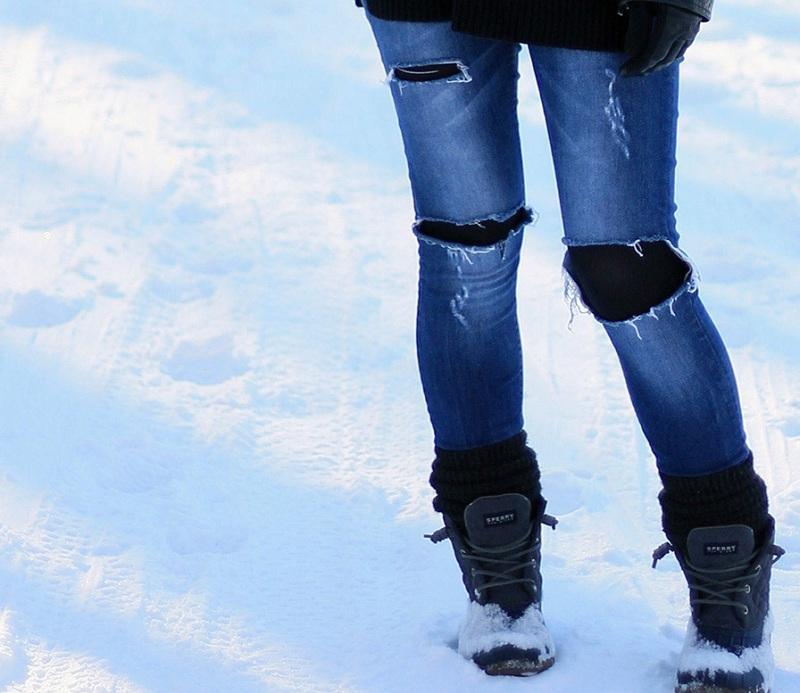 5 способов перестать носить колготки под джинсами и брюками