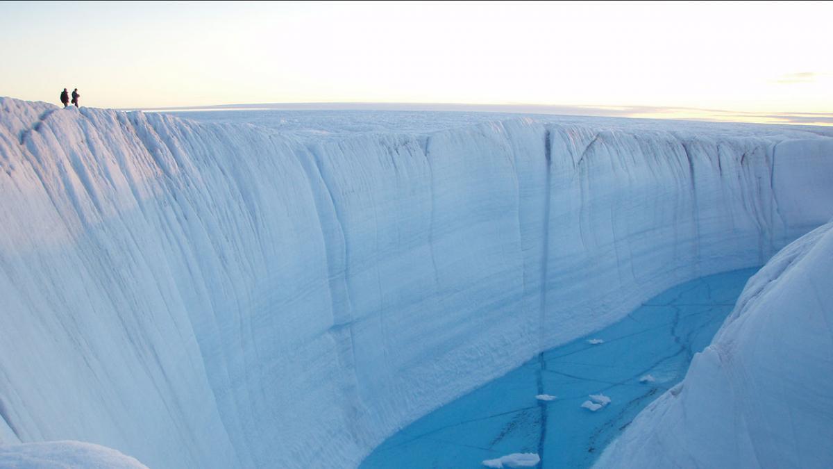Лед Гренландии