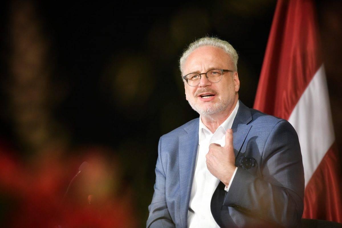Латвийцев возмутили слова президента Левитса о «чужой войне»