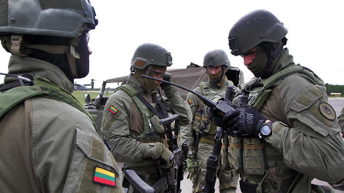 Литва НАТО учения