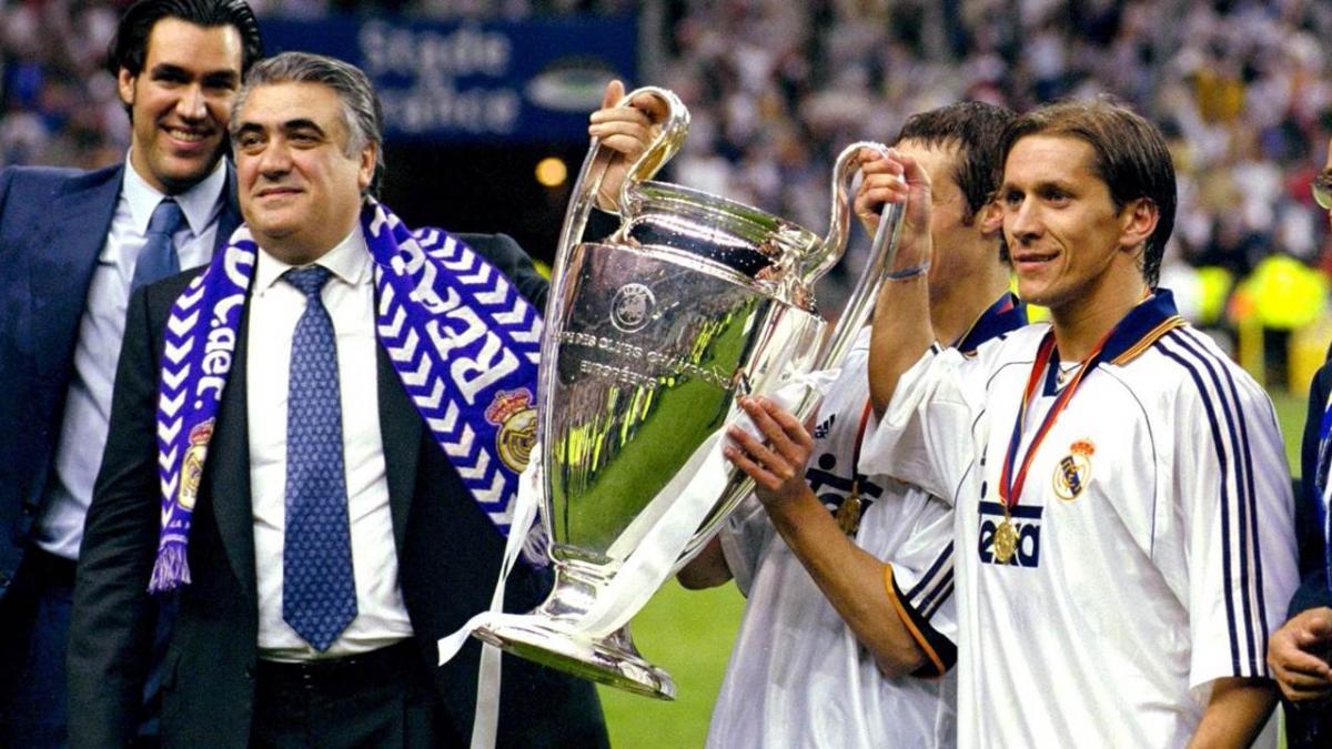 Лоренцо Санс Реал Мадрид