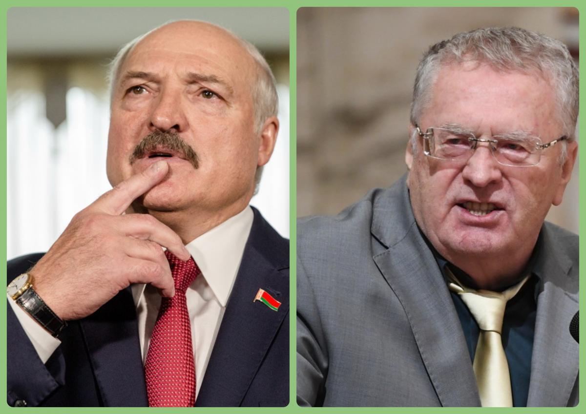 Лукашенко Жириновский