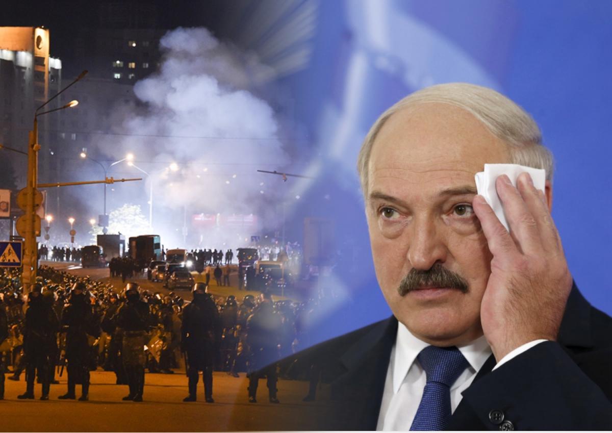 Лукашенко и притесты