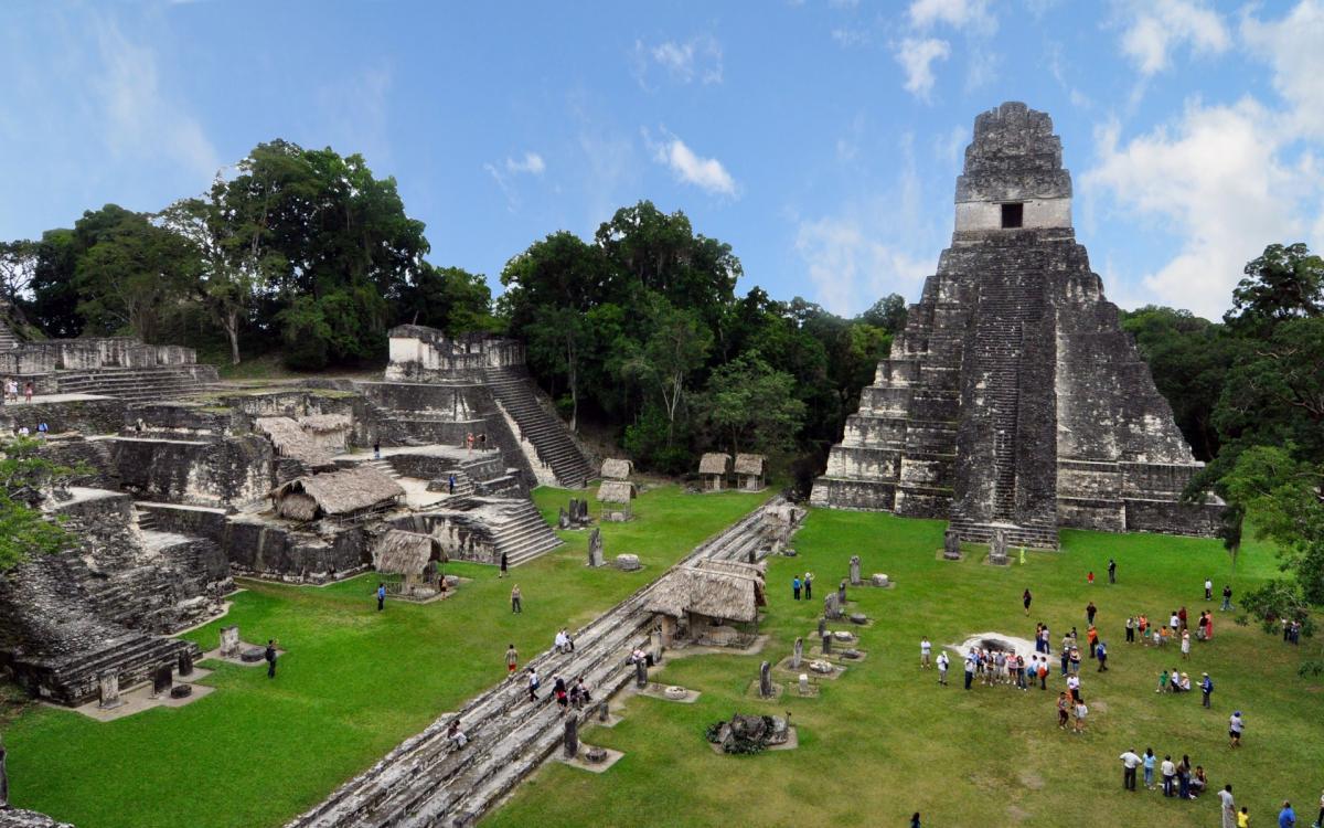 Сооружения древних индейцев