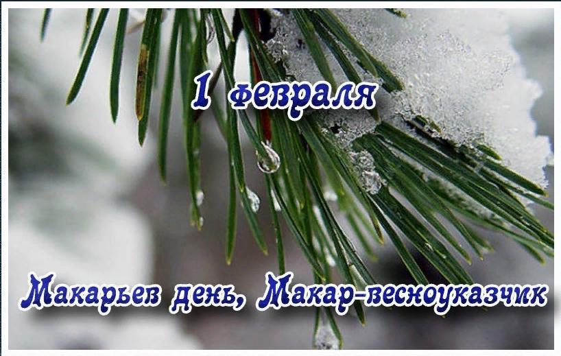 1 февраля 2019 года – Макарьев день (Макар-весноуказчик): что это за праздник и как его отмечают, народные традиции, обряды, приметы и поверья этого дня, его история