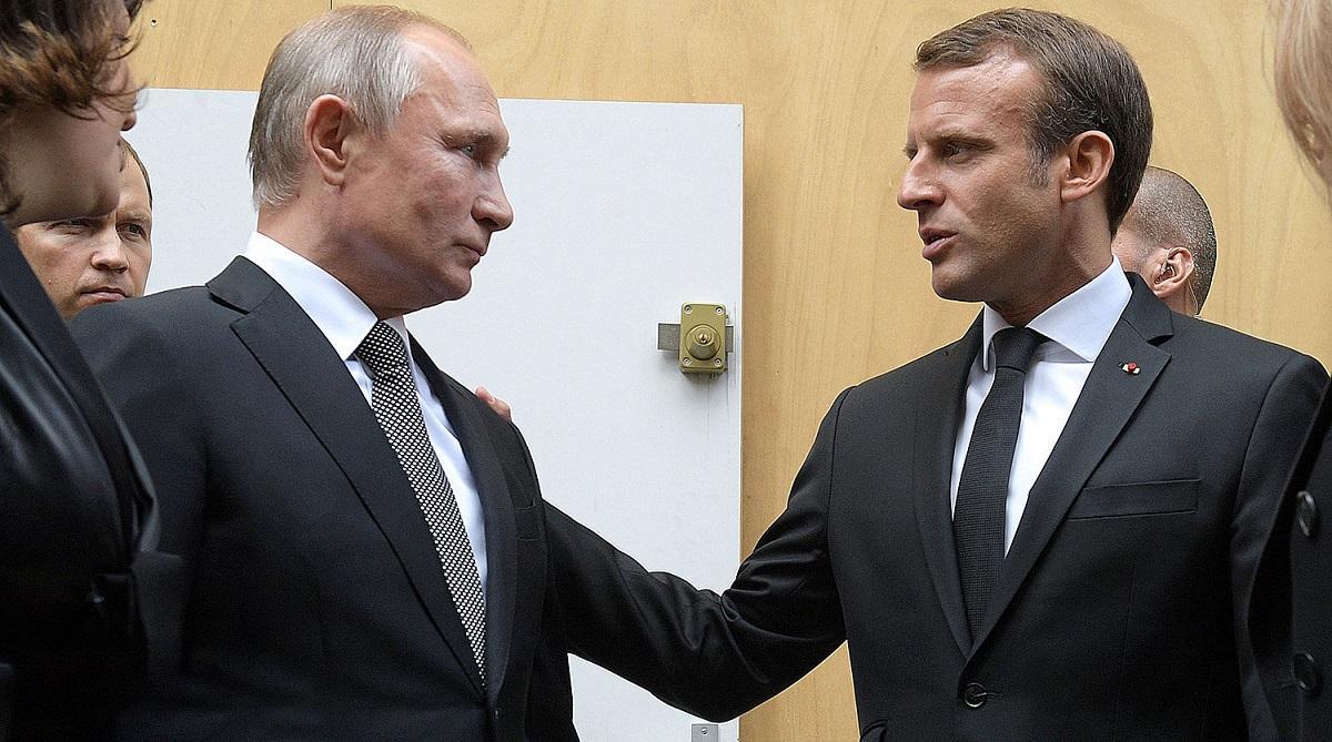 Макрон призвал Запад определить красные линии для России
