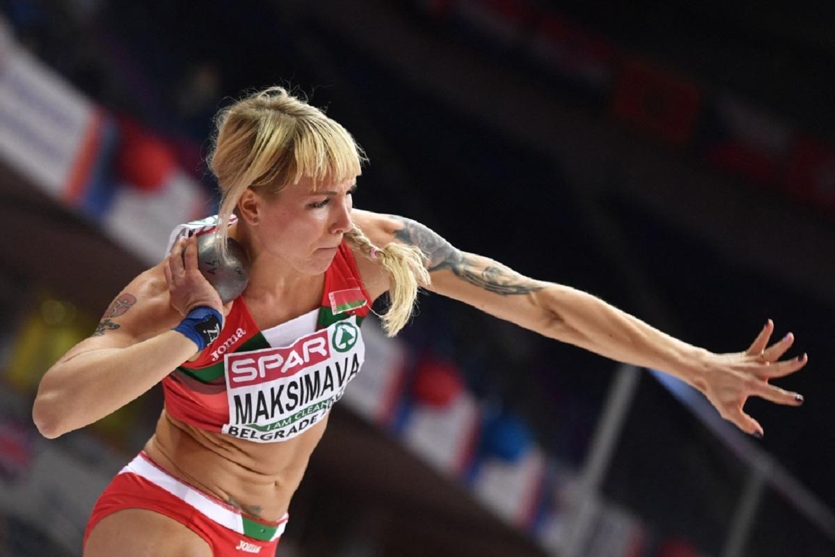 Максимова Тимановская Белоруссия Олимпиада