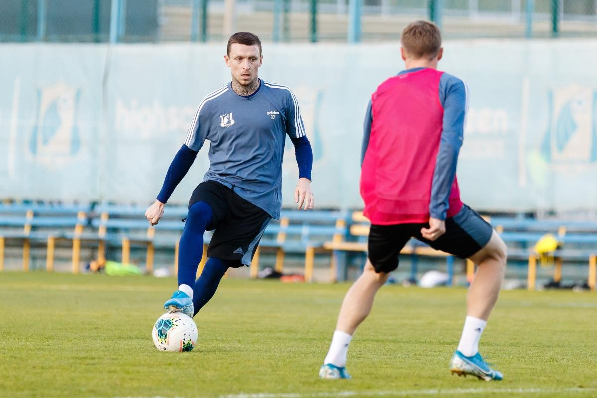 Мамаев впечатлил ФК «Ростов» на первых тренировках после заключения