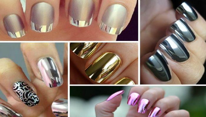 Модный и стильный маникюр: дизайн ногтей с втиркой на гель-лаке в фото