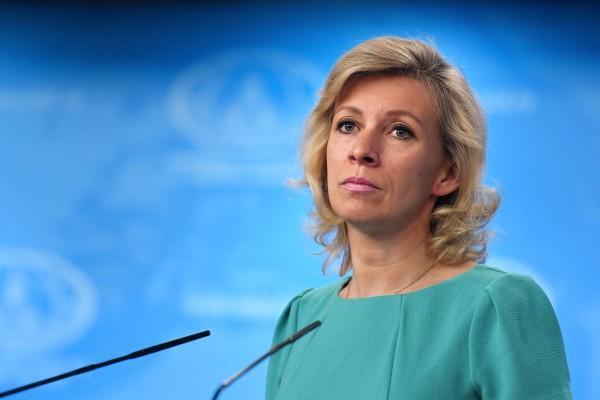 Мария Захарова: «я не ранена, я убита»