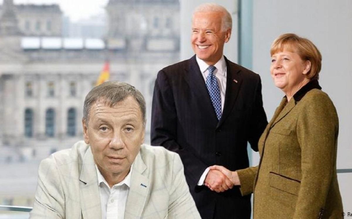 Марков объяснил, что означает демонстративное игнорирование Киева Байденом и Меркель
