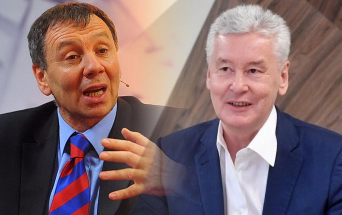Сергей Марков и Сергей Собянин