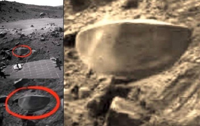 Уфолог отметил наМарсе аномальное полушарие