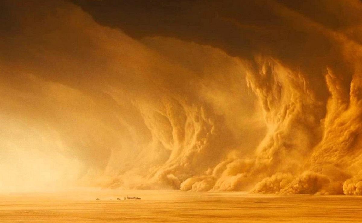 пылевые башни на Марсе