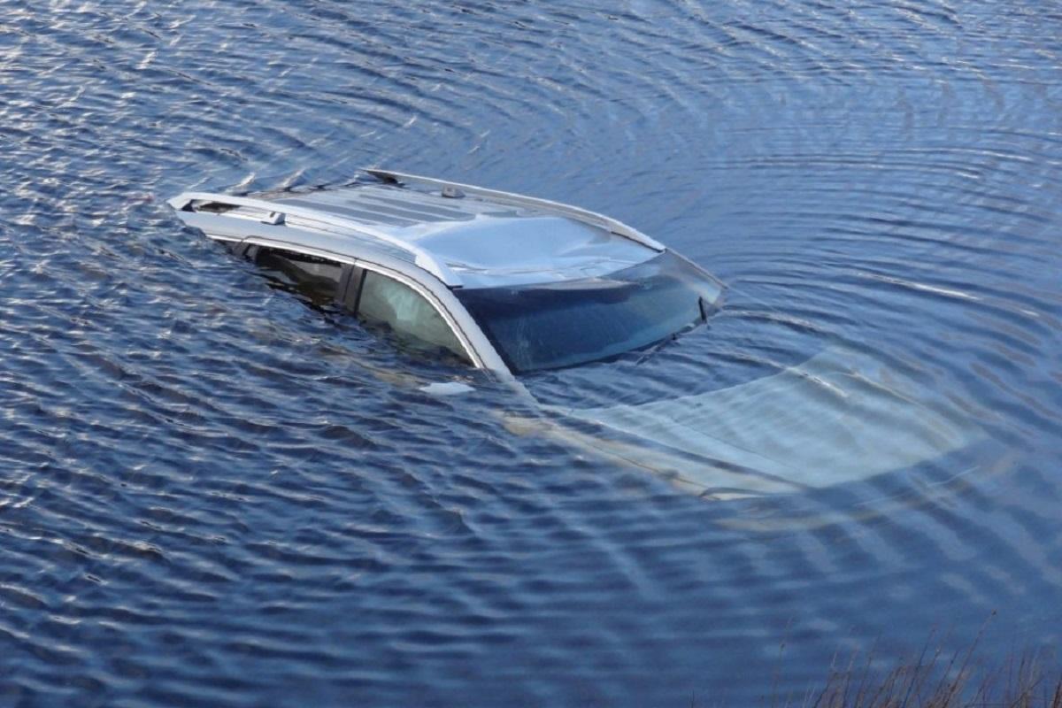 В Ростовской области из озера достали машину и два трупа