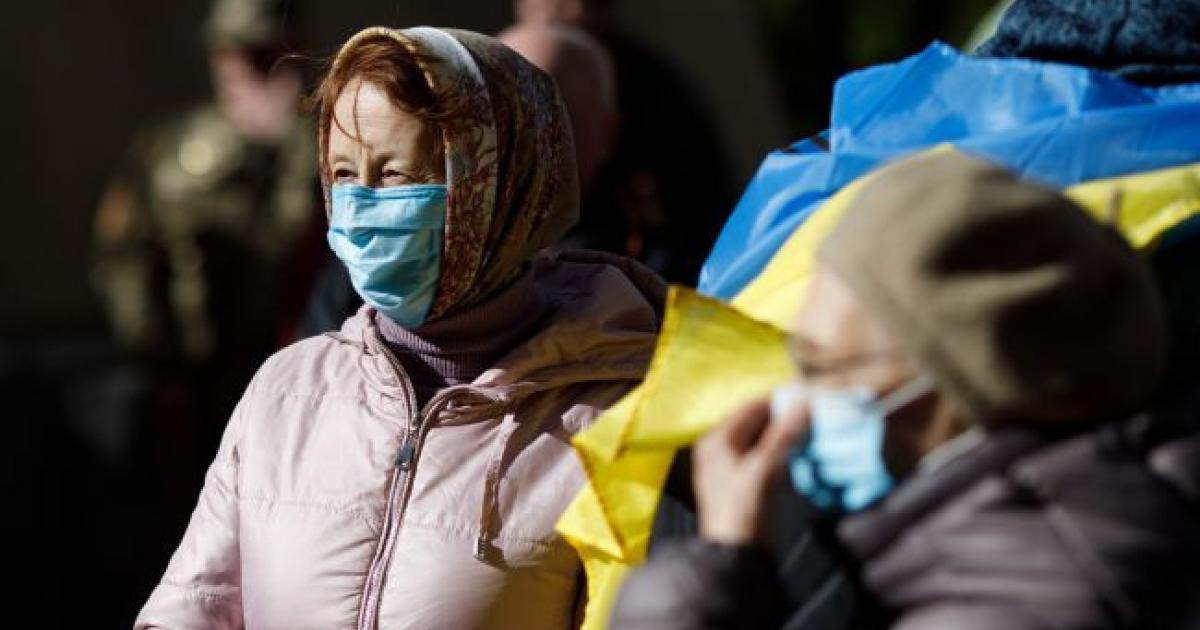 Коронавирус на Украине фото