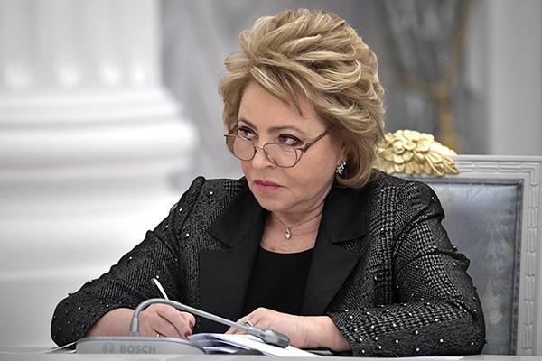 Матвиенко раскритиковала главу Минобрнауки за недостаток амбиций