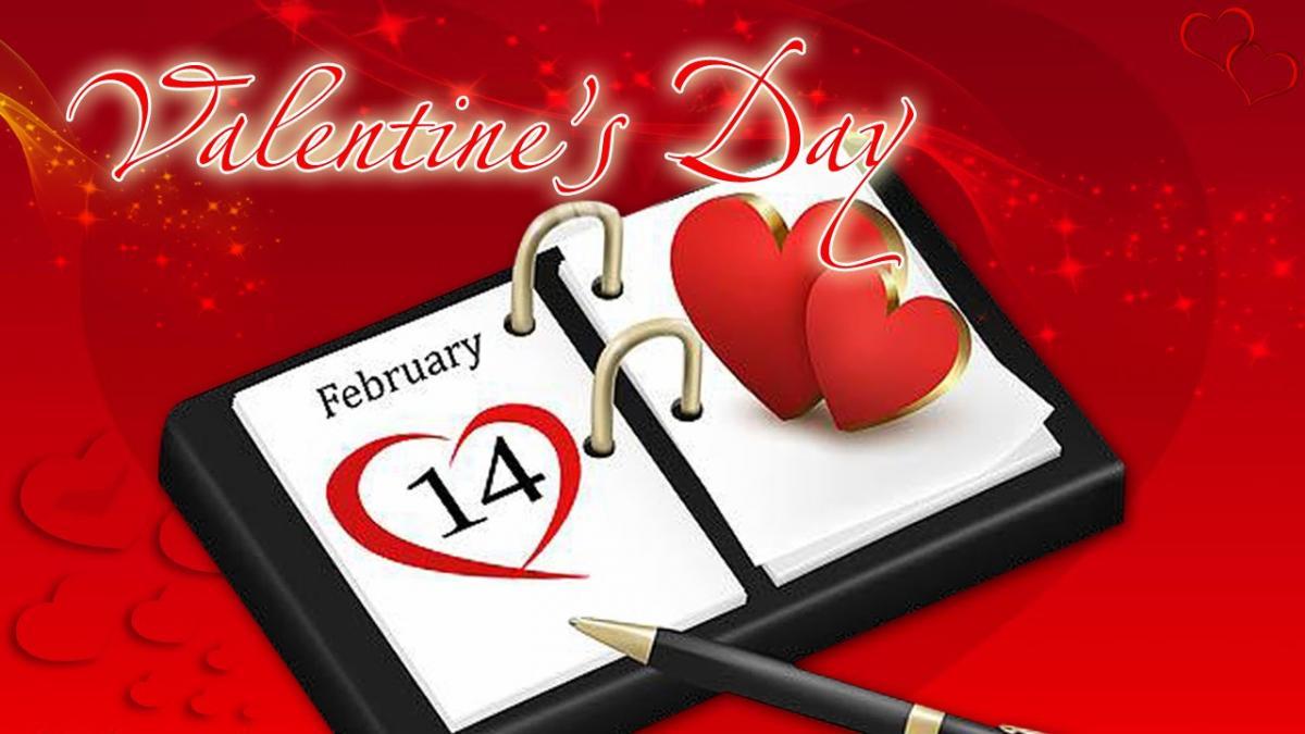 Картинки с Днем святого Валентина 14 февраля