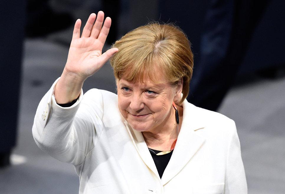 Ангела Меркель снова избрана канцлером Германии