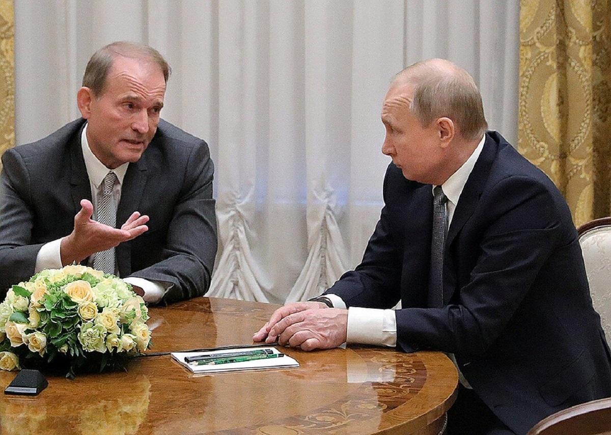 Эксперт объяснил, почему Путин не станет отвечать на санкции против Медведчука