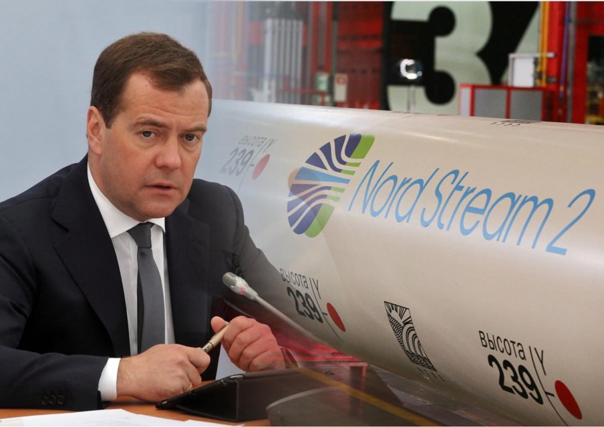 """Дмитрий Медведев, """"Северный поток - 2"""""""