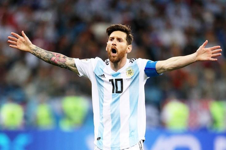 Хорватия сдержала Месси и разгромила Аргентину на ЧМ-2018 со счетом 3:0