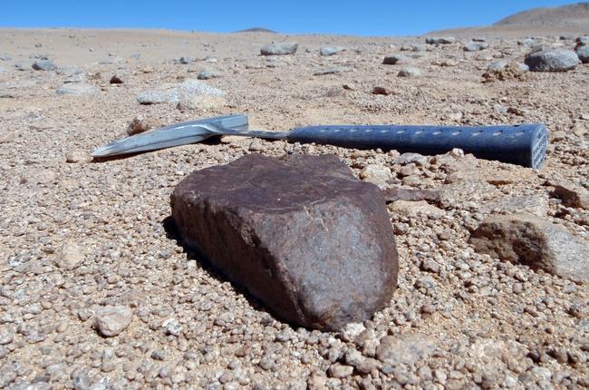 В пустыне Атакама геологи собрали самую большую коллекцию метеоритов в мире