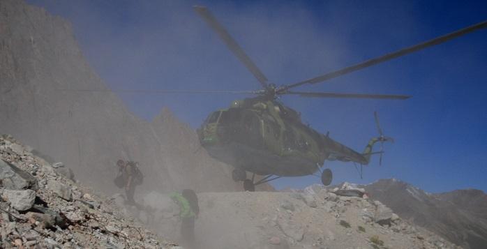 ПРОИСШЕСТВИЯ В Чечне разбился вертолет с пограничниками