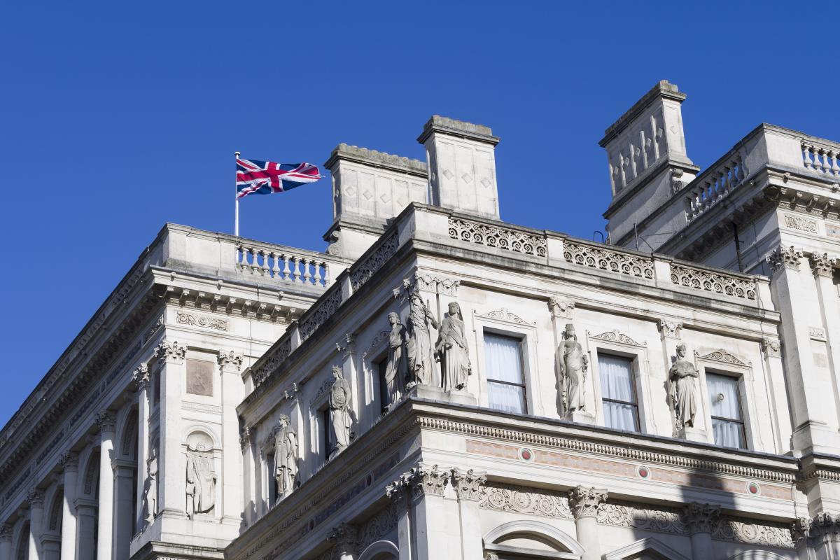 МИД Великобритания здание флаг
