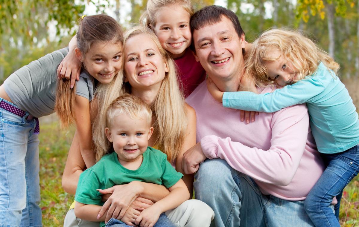 Семья многодетная